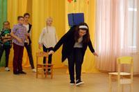 Посвящение в пятиклассники (частная школа «ЛАД», 2017) учащимися частной школы «ЛАД» (01.09.2017)