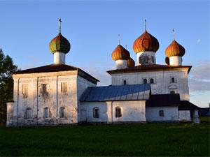 Архитектурный ансамбль церковь Николая Чудотворца и Церковь Благовещения