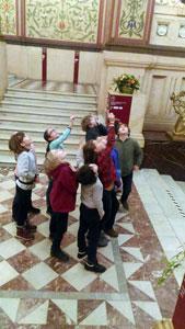 Занятия в Историческом музее (частная школа «ЛАД», Москва)