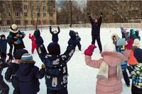 Зимний праздник (частная школа «ЛАД», Москва)