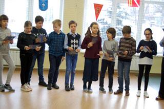 Участники конкурса «Русский медвежонок» (частная школа «ЛАД», Москва)